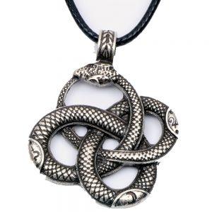 Collier serpent ouroboros